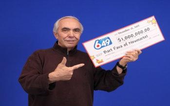 Newmarket : un uomo vince $ 1 milione al 649