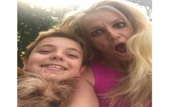 Los Angeles : Britney Spears divide il suo imbarazzo su Instangram dopo essersi chiusa fuori di casa