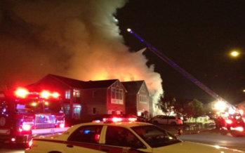 Thornhill : Il fuoco di una casa a schiera  provoca ingenti danni