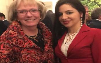 L'on. La Marca incontra  la nuova ambasciatrice Canadese a Roma  Alexandra Bugailiskis