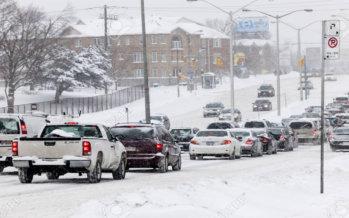 Toronto & GTA: previste dieci centimentri di neve.