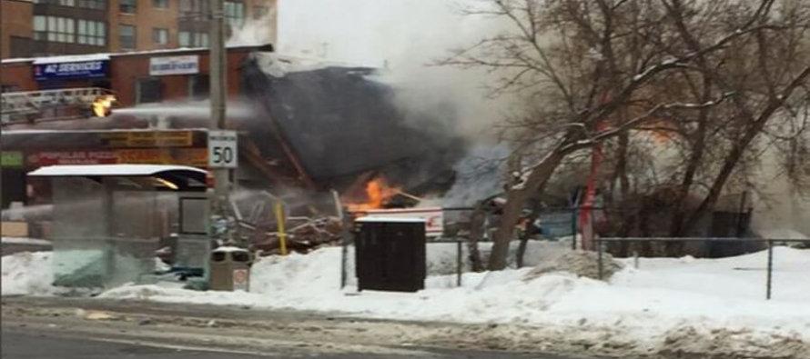 Mississauga: un esplosione colpisce un centro commerciale, mandando tre persone in ospedale